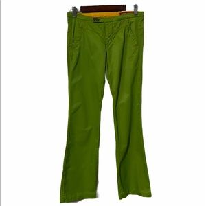 90s MISS SIXTY LIME GREEN PANTS